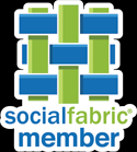 social-fabric-button