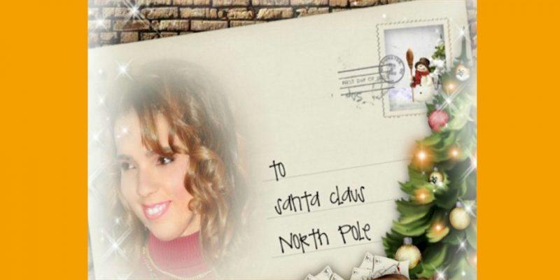 christmas letter slider