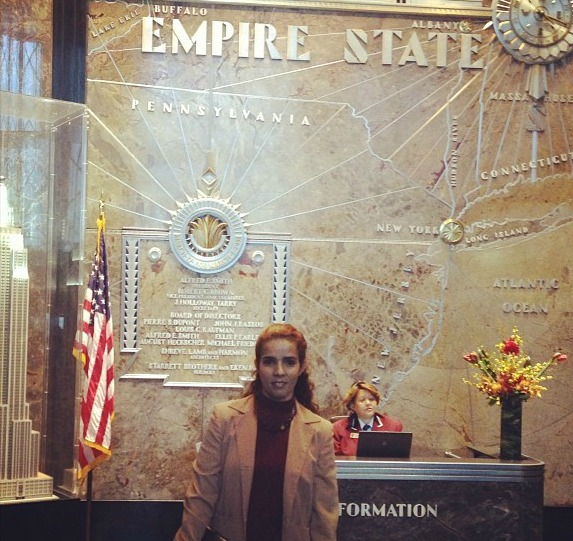 Me on Empire Statef