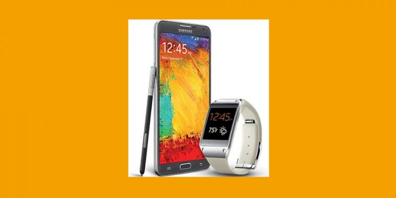 samsung note 3 and gear