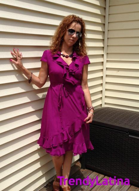 Trendy Wrap Dressf