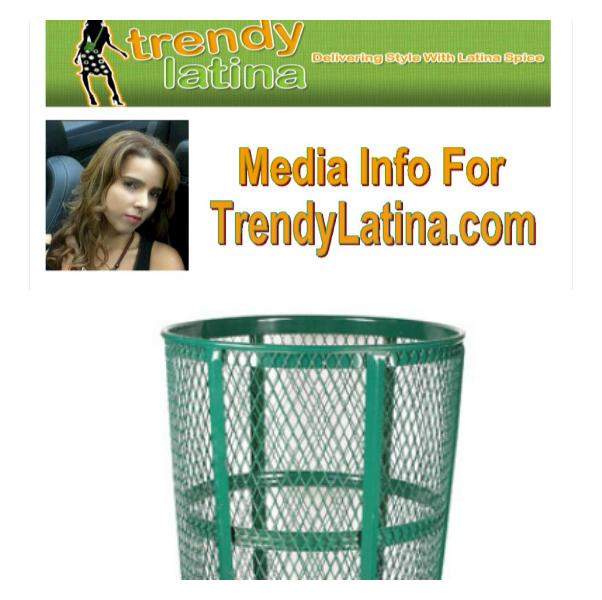Media kit in the trash