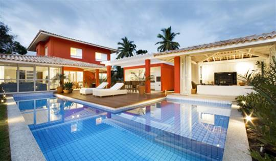 beach house in Brazil