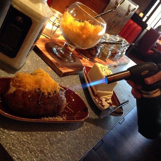 Potato at Guy Fieri's