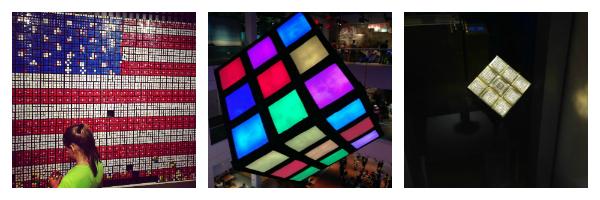 Trendy Latina Rubicks Exhibit