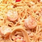Light Shrimp Alfredo