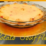 Potato Soufflé Recipe – Making Memories With Pyrex  #Pyrex100