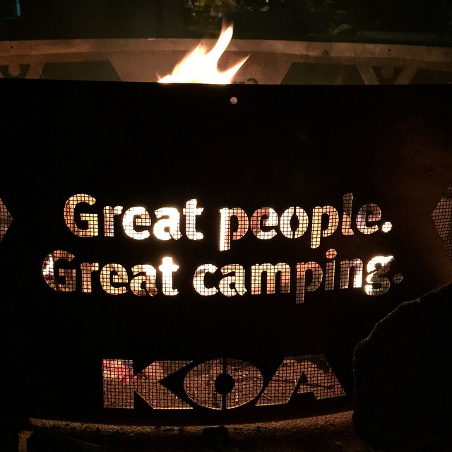KOA Camp Fire