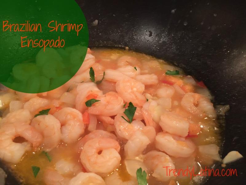Brazilian Shrimp Ensopado A