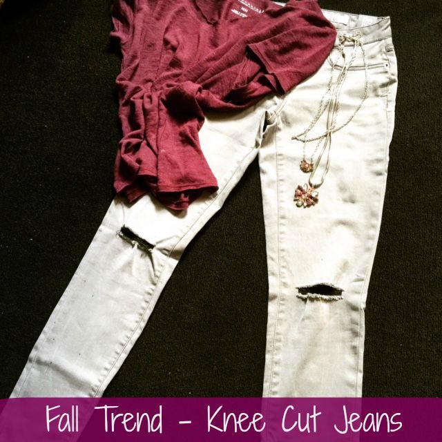 Knee Cut Jeans Hero