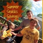 Summer Snacks Savings