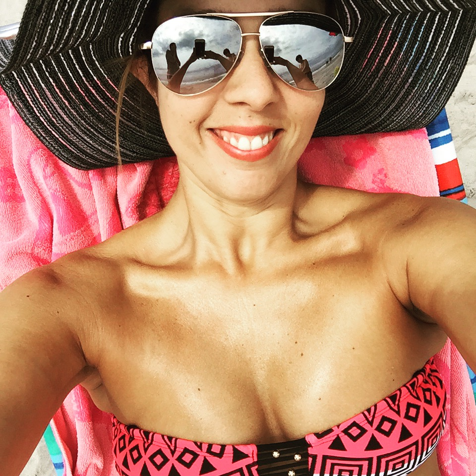 Beach Fun Latina Blogger