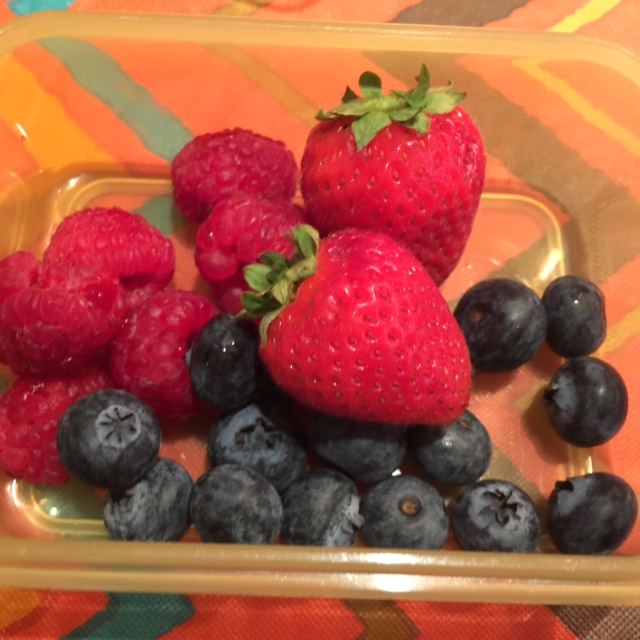 Chobani Fruits for Lunch
