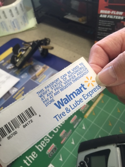 Walmart Receipt