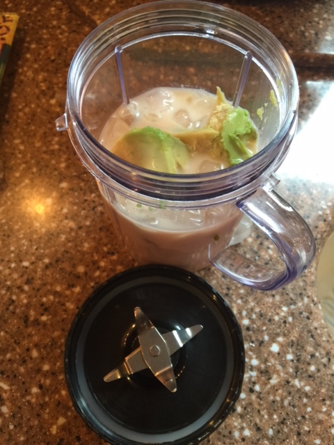 Avocado Smoothie Mixer