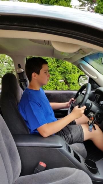 Lucas Driving