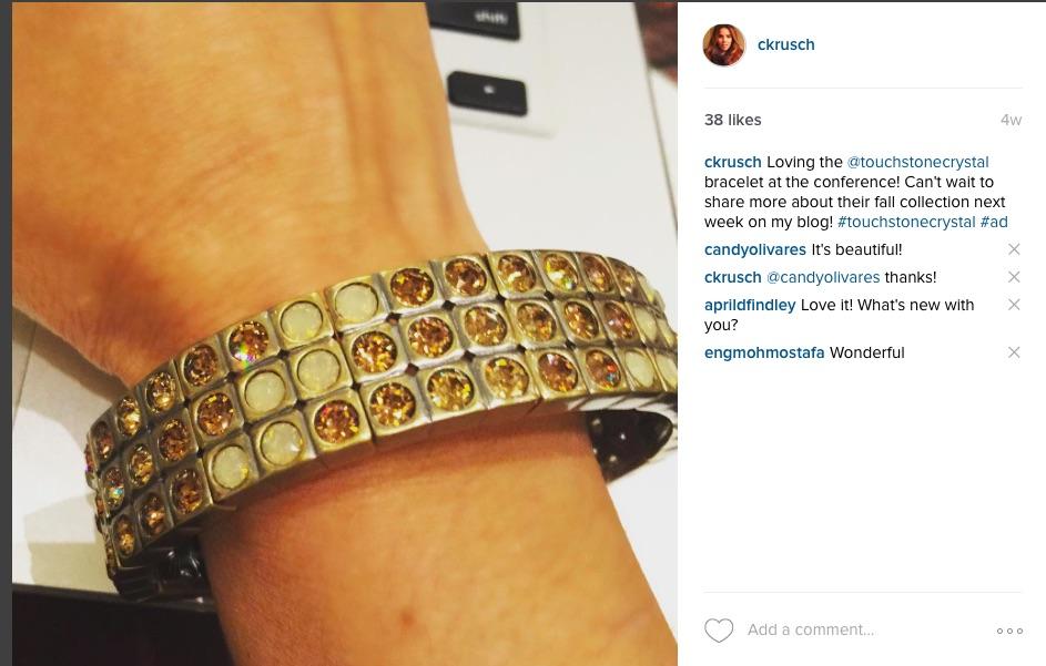 Bracelet Touchstone Crystal