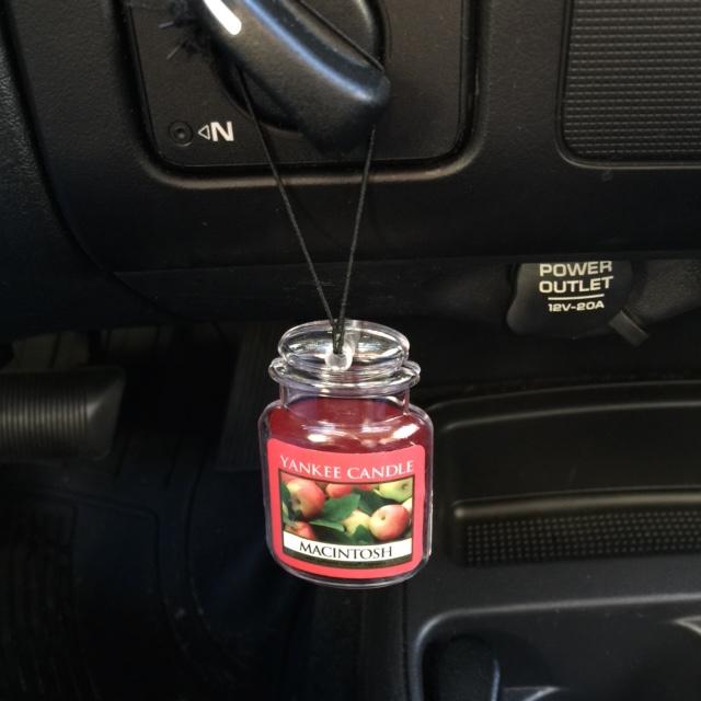 Yankee Candle Car