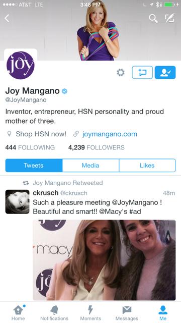 Joy Mangano at Macys 9
