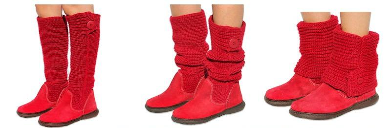tricot boots set 1