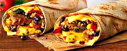 DD Burrito Breakfast