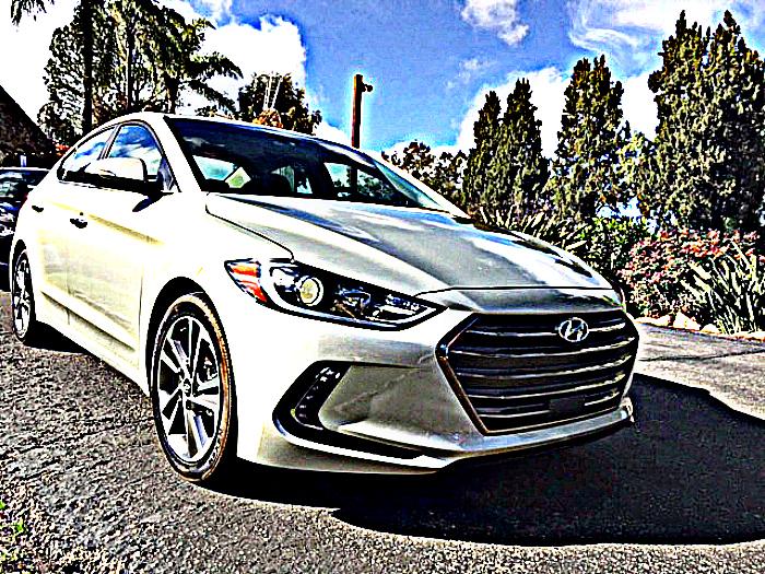Hyundai Elantra White