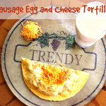 Sausage Egg And Cheese Tortilla