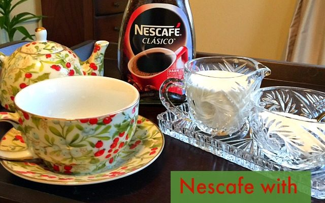 Nescafe Clasico With Dessert
