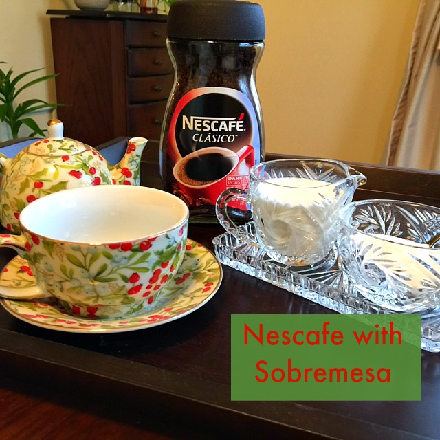Nescafe Clasico With Dessert