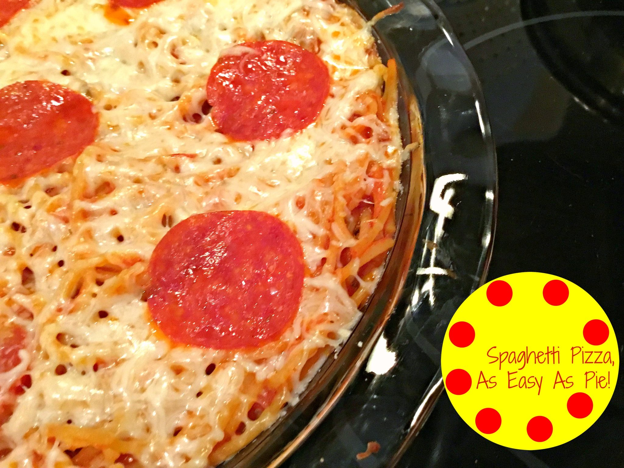 Spaghetti Pizza Hero