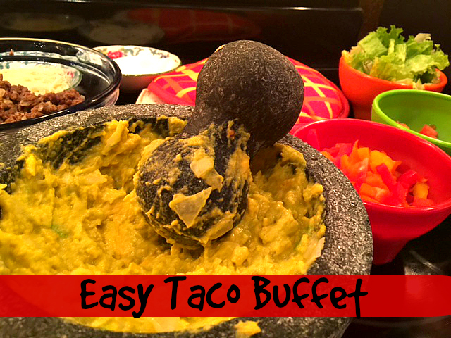 Taco Buffet Hero