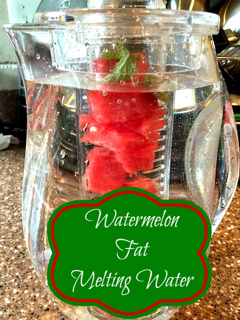 Watermelon Fat Melting Water