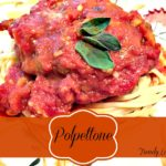 Polpettone With Spaghetti Al Dente