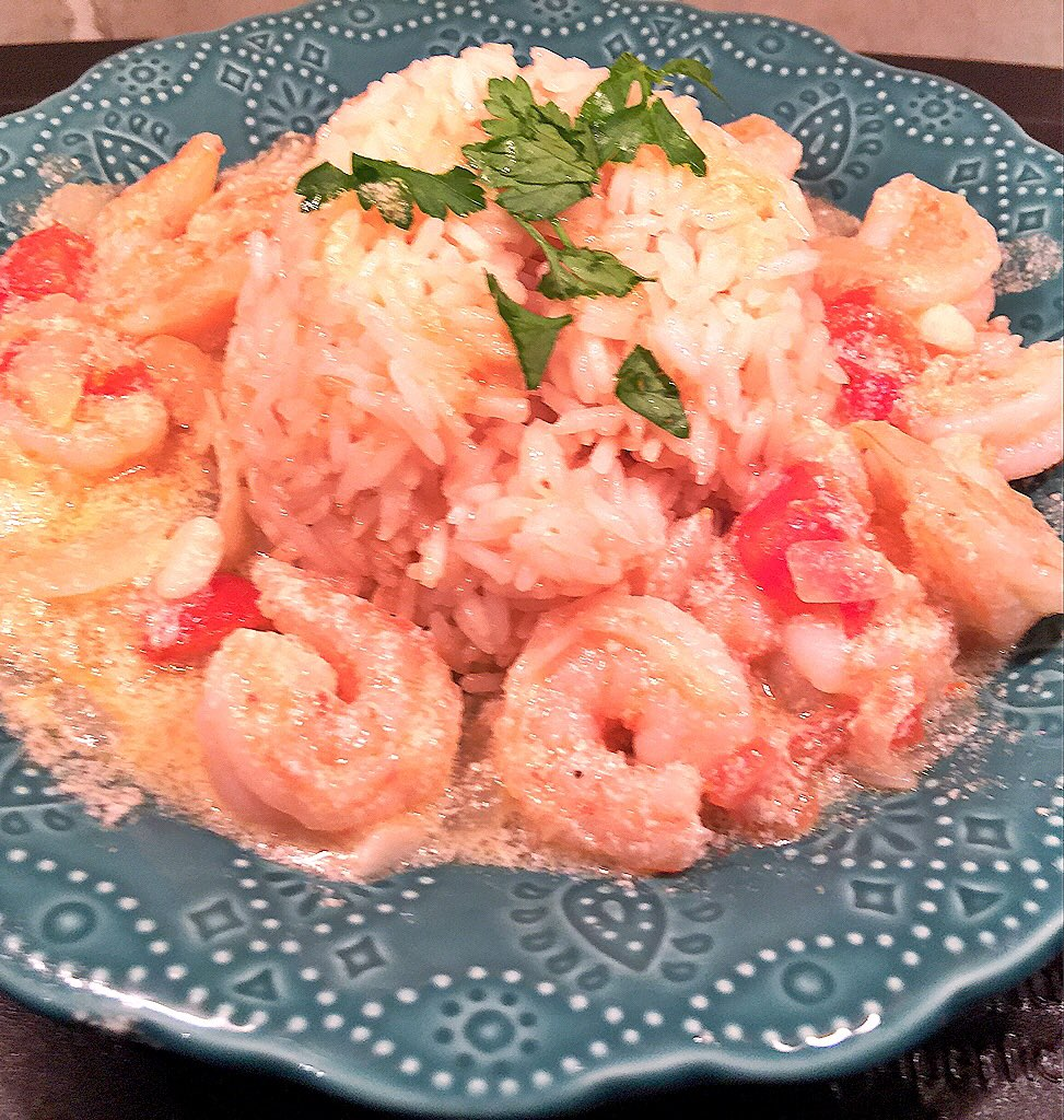 Brazilian shrimp dish