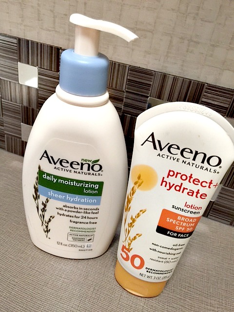 Aveeno moisturizing lotion summer
