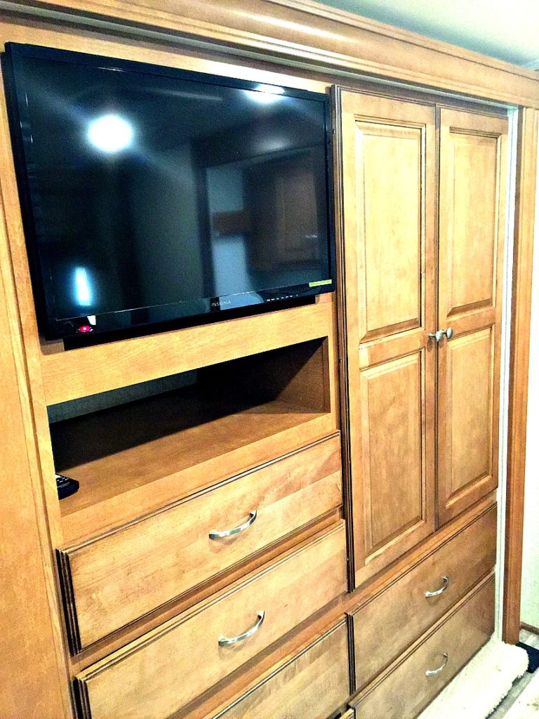 Bedroom Storage Winnebago
