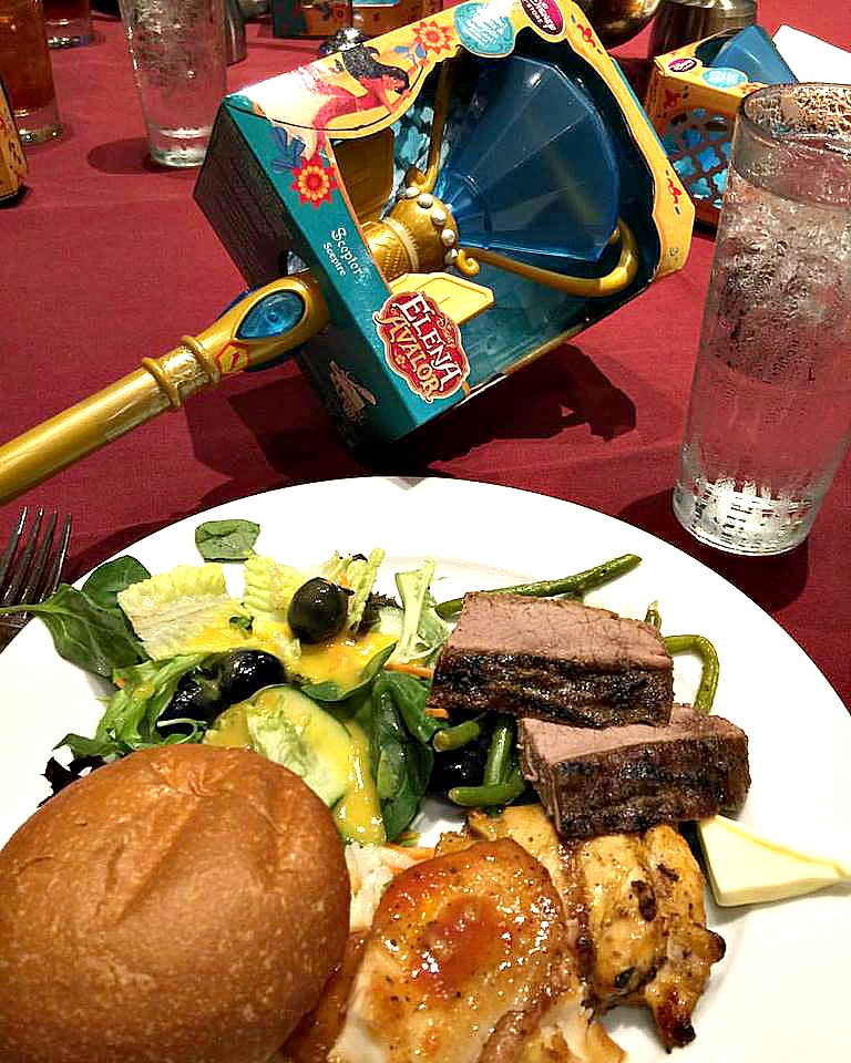 Contemporary Resort Luncheon For Elena of Avalor