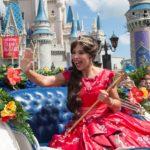 Elena's Debut In Magic Kingdom