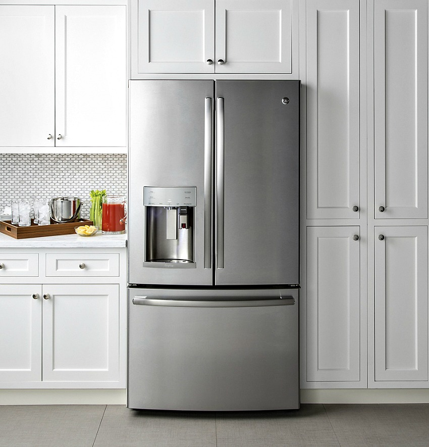 GE French Door Refrigerator with Keurig Brewing System
