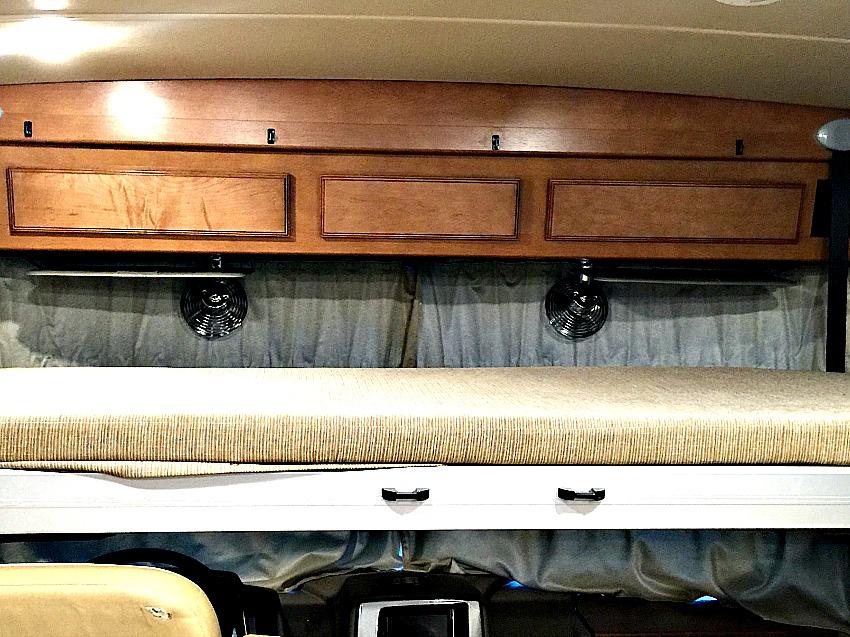 Pop Down Bed in Winnebago Vista