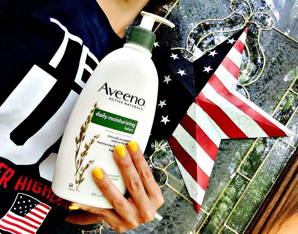 Team US Olympics Aveeno