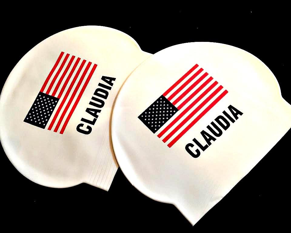 USA Olympic Swim Team Caps