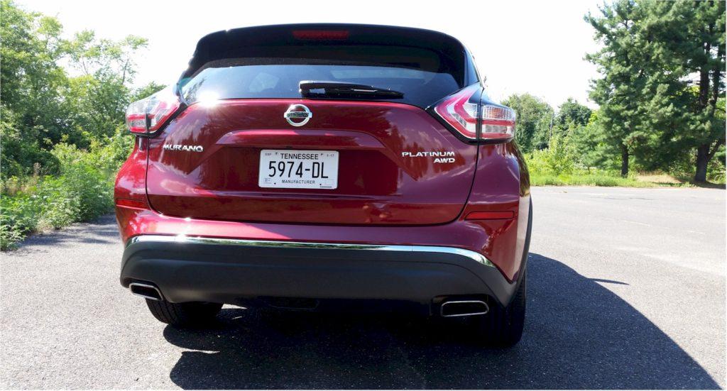 2016 Nissan Murano rear view
