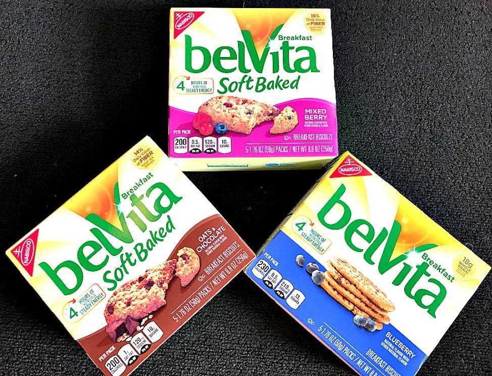 belvita breakfast options