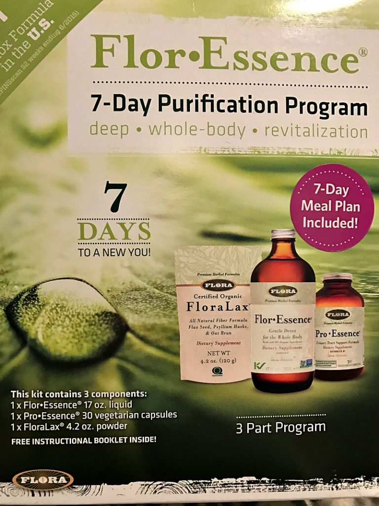 Flor Essence 7 day purification program