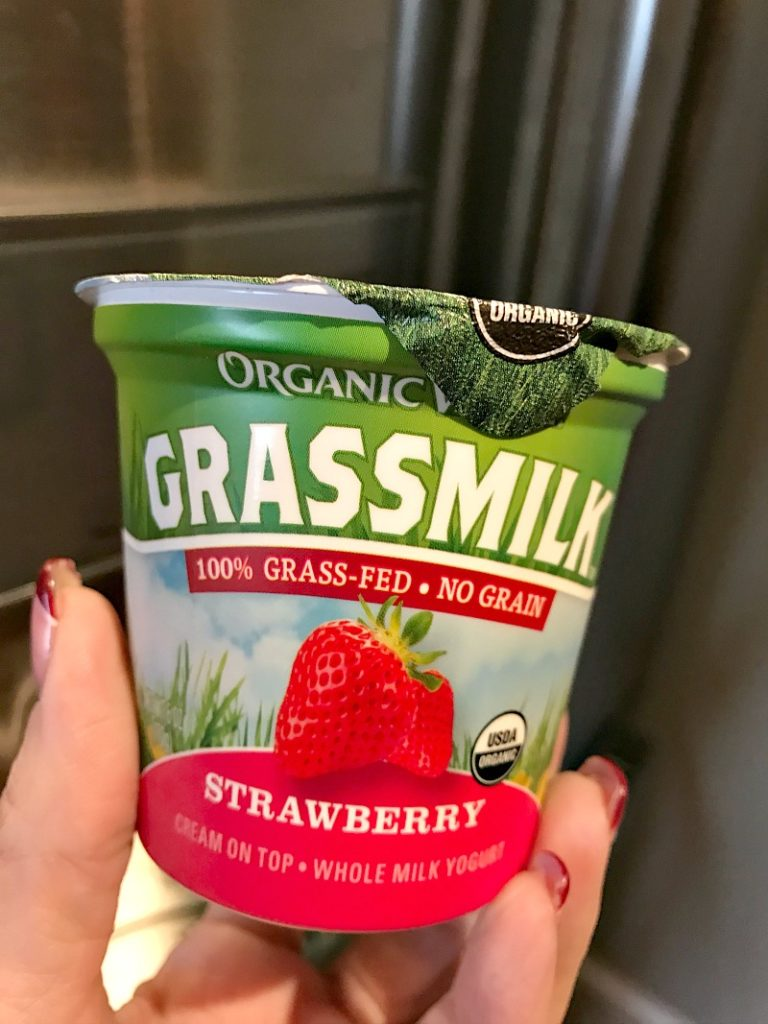 organic valley yogurt
