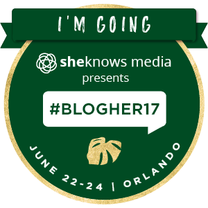 I'm going to #BlogHer17 in Orlando!