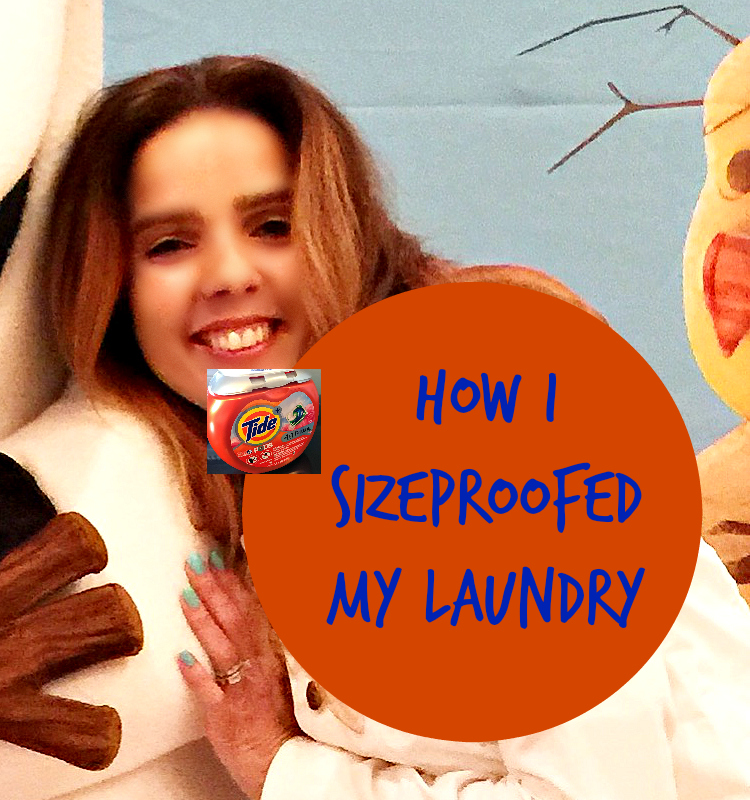 tide size-proofed laundry