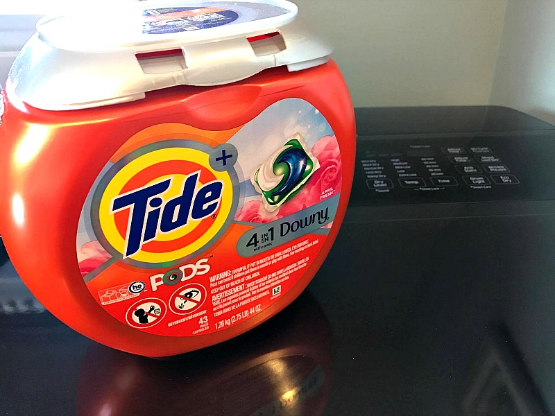 tide pods with downy