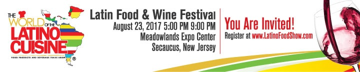latin food and wine festival banner